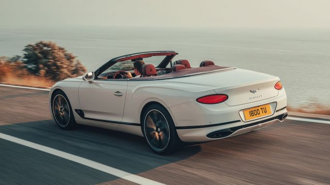 Nuova Bentley Continental GT Convertible 2019