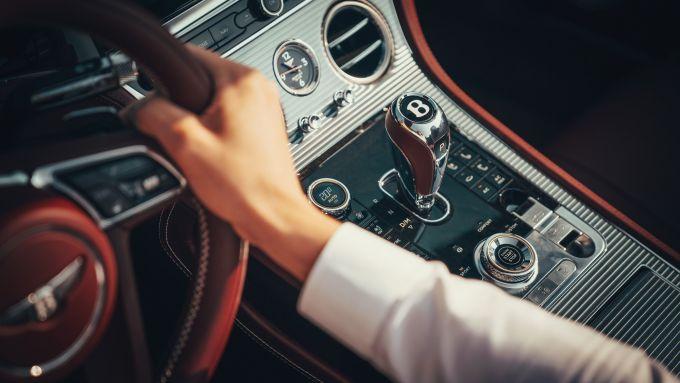 Nuova Bentley Continental GT Convertible, gli interni