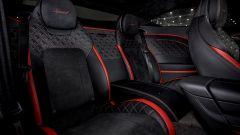 Nuova Bentley Continental GT Speed: i sedili posteriori
