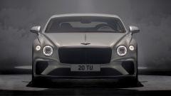 Nuova Bentley Continental GT Speed: il frontale con le griglie radiatore scure