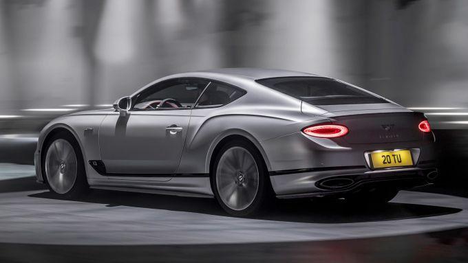 Nuova Bentley Continental GT Speed: la granturismo più performante di famiglia