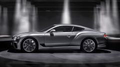 Nuova Bentley Continental GT Speed: la GT vista di lato