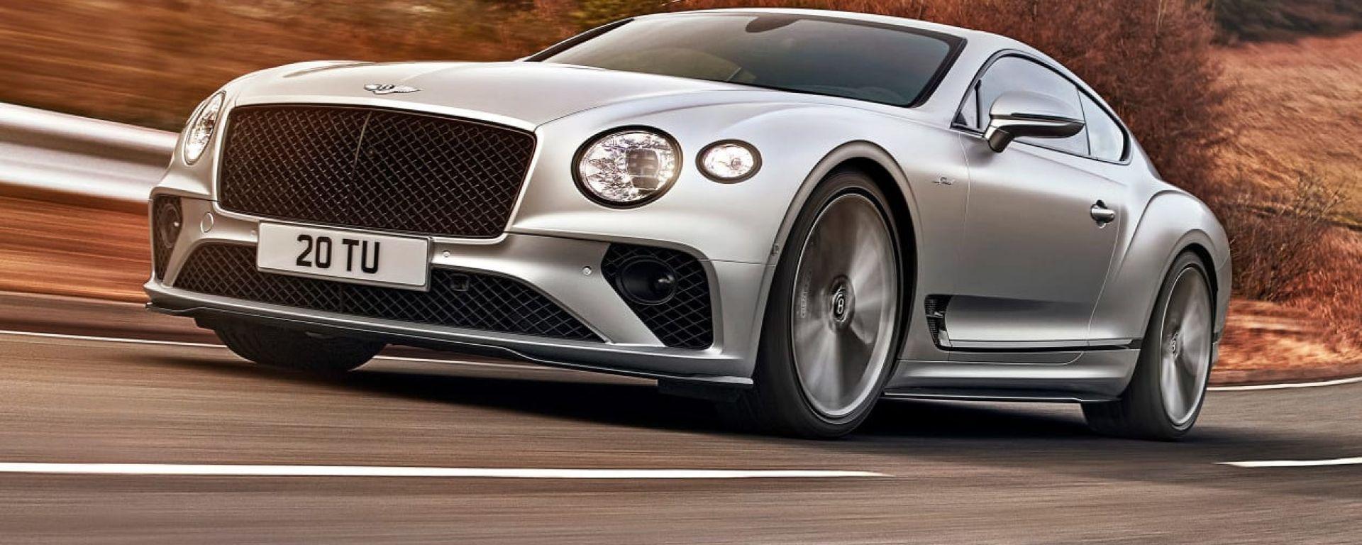 Nuova Bentley Continental GT Speed: la più veloce ed esclusiva della famiglia inglese
