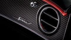 Nuova Bentley Continental GT Speed: un dettaglio della bocchetta di ventilazione