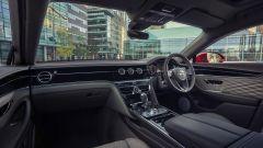 Nuova Bentley Flying Spur V8: gli interni, l'abitacolo anteriore