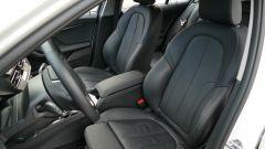 Nuova BMW 118i Sport DCT: i sedili anteriori