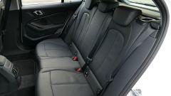 Nuova BMW 118i Sport DCT: il divanetto posteriore divisibile 60:40