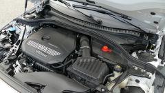 Nuova BMW 118i Sport DCT: il tre cilindri 1.5 litri turbo da 140 CV