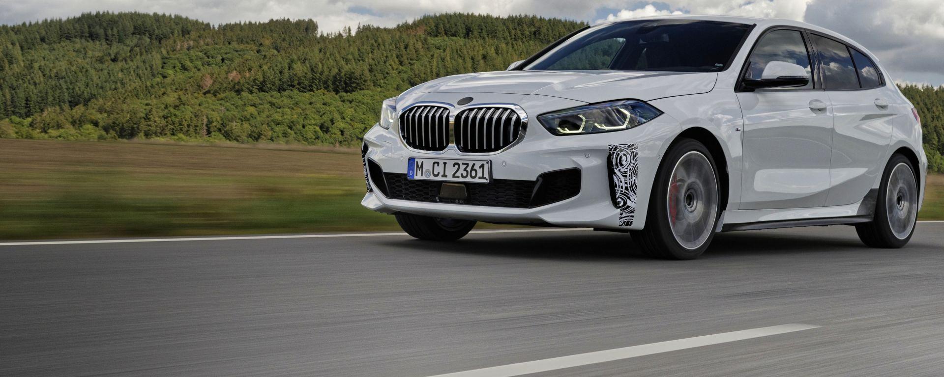 Nuova BMW 128ti, a muso duro contro Golf GTI. Da novembre