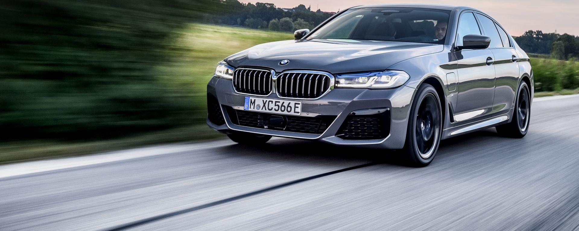 Nuova BMW 545e xDrive