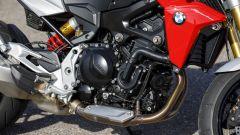 Nuova BMW F900R: dettaglio del motore