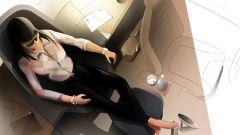 Nuova BMW i3 Urban Suite: un rendering degli interni