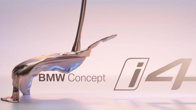 Nuova BMW i4, a Ginevra debutta la berlina elettrica