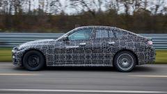Nuova BMW i4: avra la carrozzeria della Serie 4 Gran Coupé