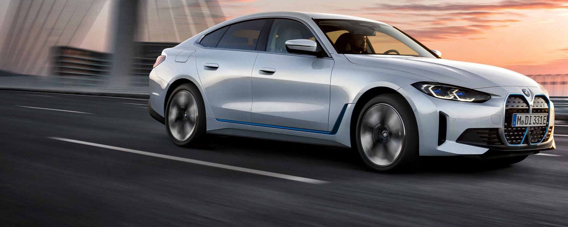 Nuova BMW i4 eDrive40
