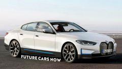 Nuova i4 elettrica: autonomia, foto, lancio della berlina BMW