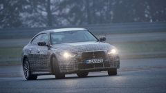 Nuova BMW i4: ipotesi di motore elettrico con potenza di circa 530 CV