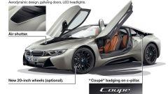 Nuova BMW i8 Roadster e Coupé 2018: più potenza e autonomia - Immagine: 33