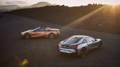 Nuova BMW i8 Roadster e nuova BMW i8 Coupé