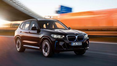 Nuova BMW iX3: arriva il facelift a settembre