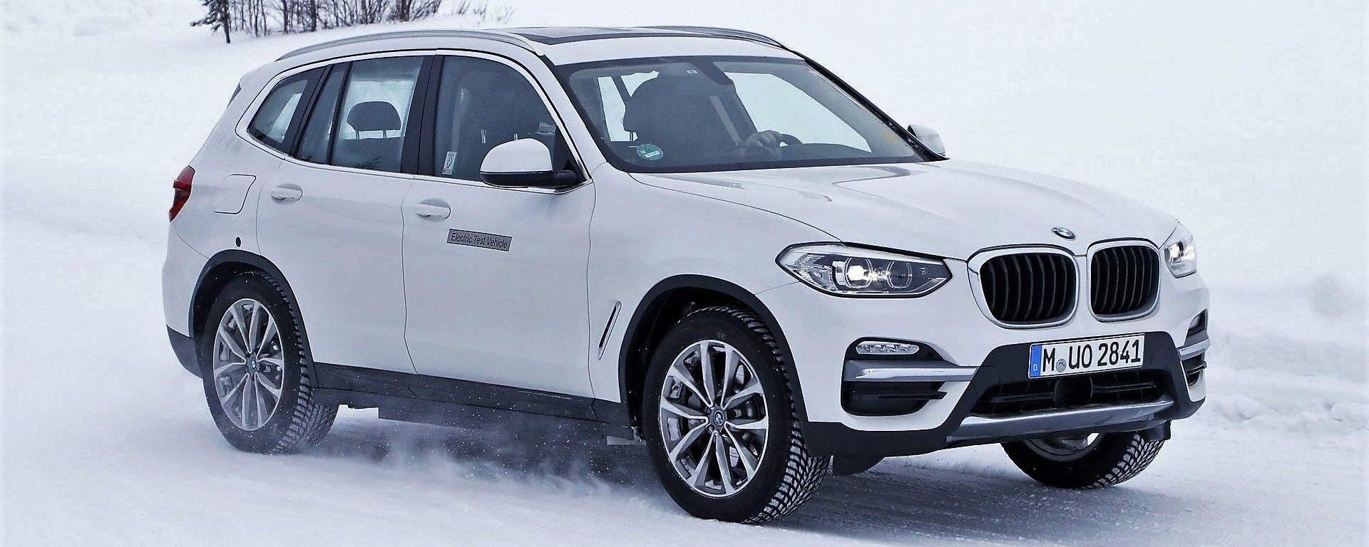 BMW iX3: avvistato il SUV elettrico e plug-in