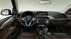 Nuova BMW iX3: gli interni