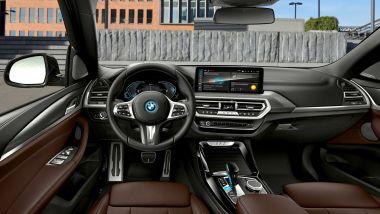 Nuova BMW iX3: il lussuoso abitacolo del SUV a zero emissioni