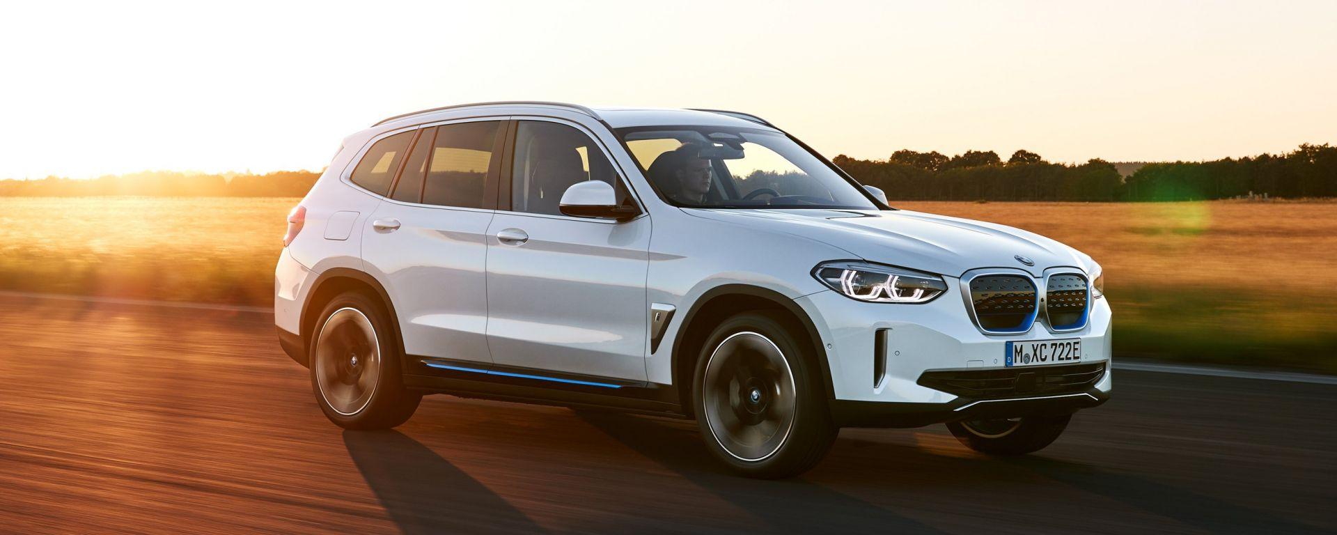 Nuova BMW iX3: il primo SUV elettrico della casa tedesca