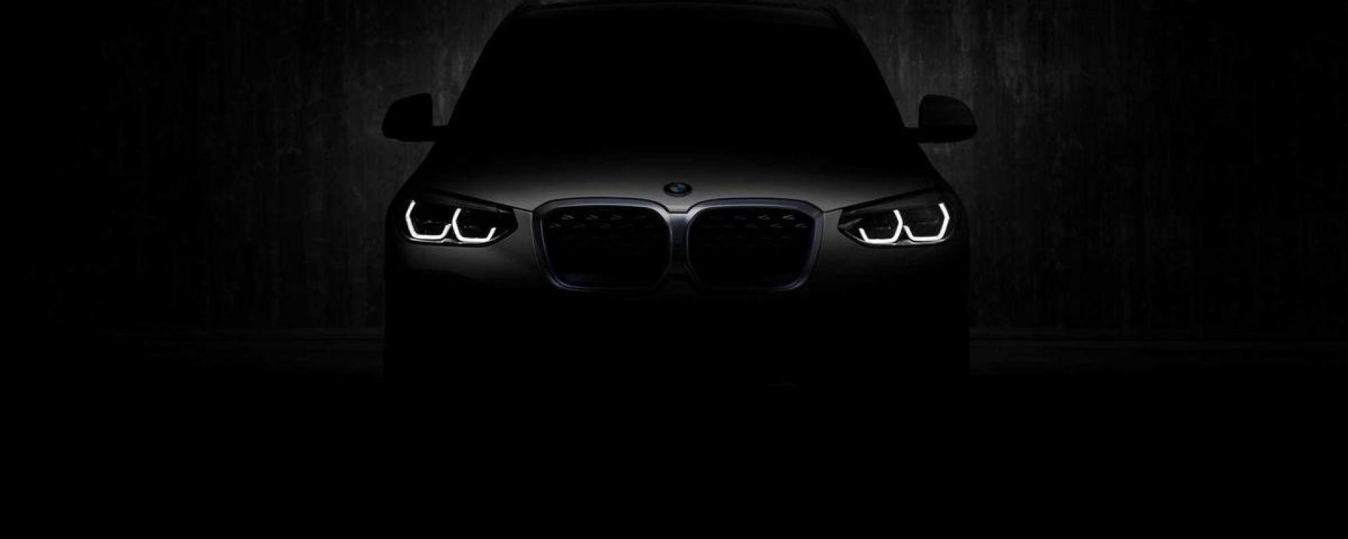 BMW iX3, il SUV elettrico in diretta streaming il 14 luglio