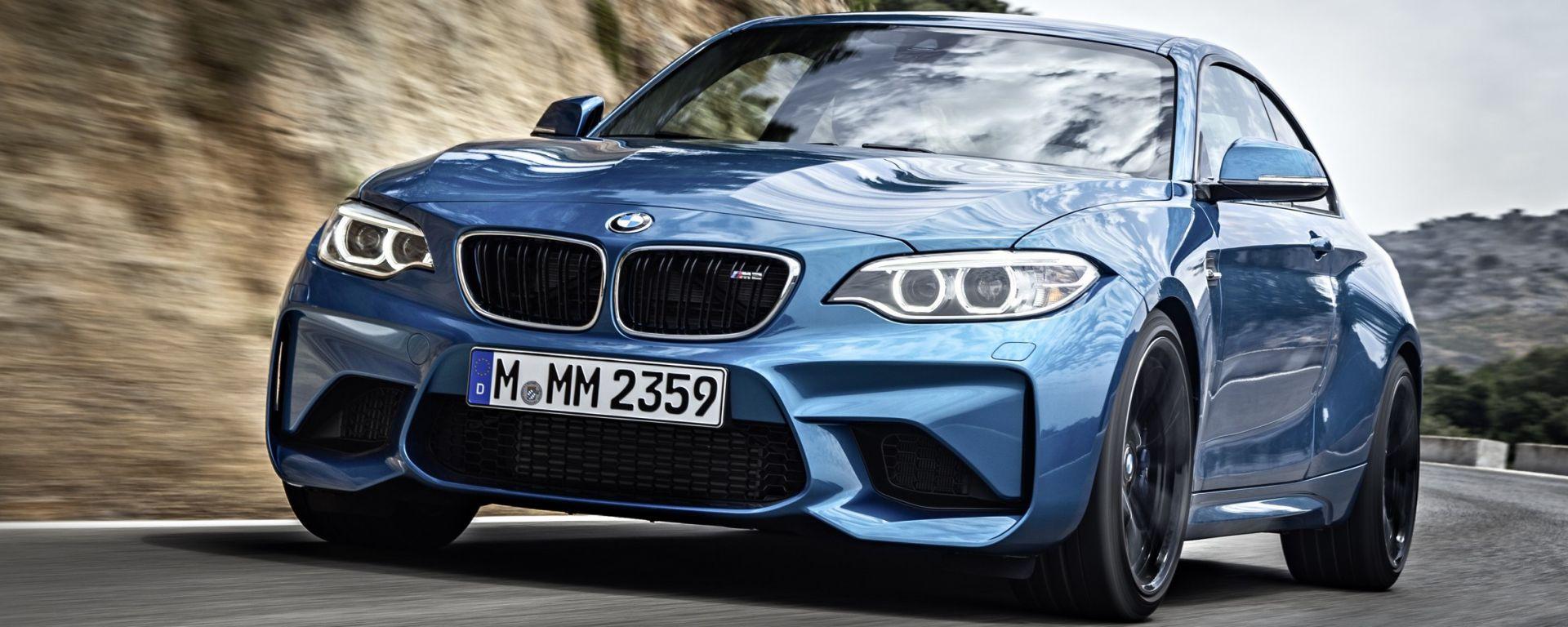 Nuova BMW M2 Competition: arriva ad aprile