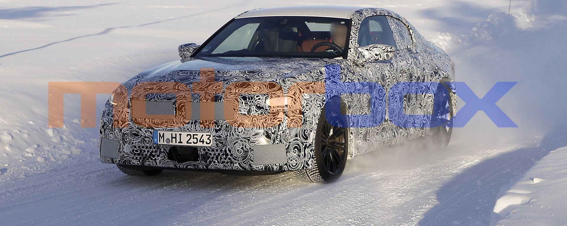 Nuova BMW M2 Coupé: completerà la gamma della nuova compatta tedesca