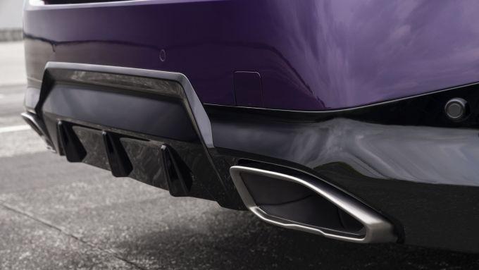 Nuova BMW M240i xDrive Coupé: gli scarichi posteriori
