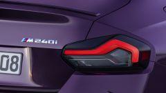 Nuova BMW M240i xDrive Coupé: i nuovi gruppi ottici posteriori