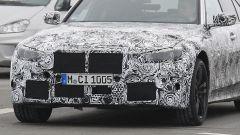 Nuova BMW M3 2019: dettaglio del frontale