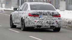 Nuova BMW M3 2019: dettaglio del posteriore