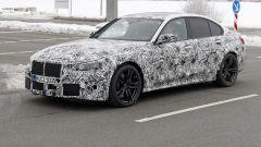 Nuova BMW M3 2019: dettaglio della ruota anteriore