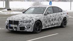Nuova BMW M3 2019: vista 3/4 anteriore