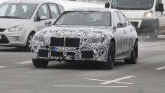 Nuova BMW M3 2019: vista frontale