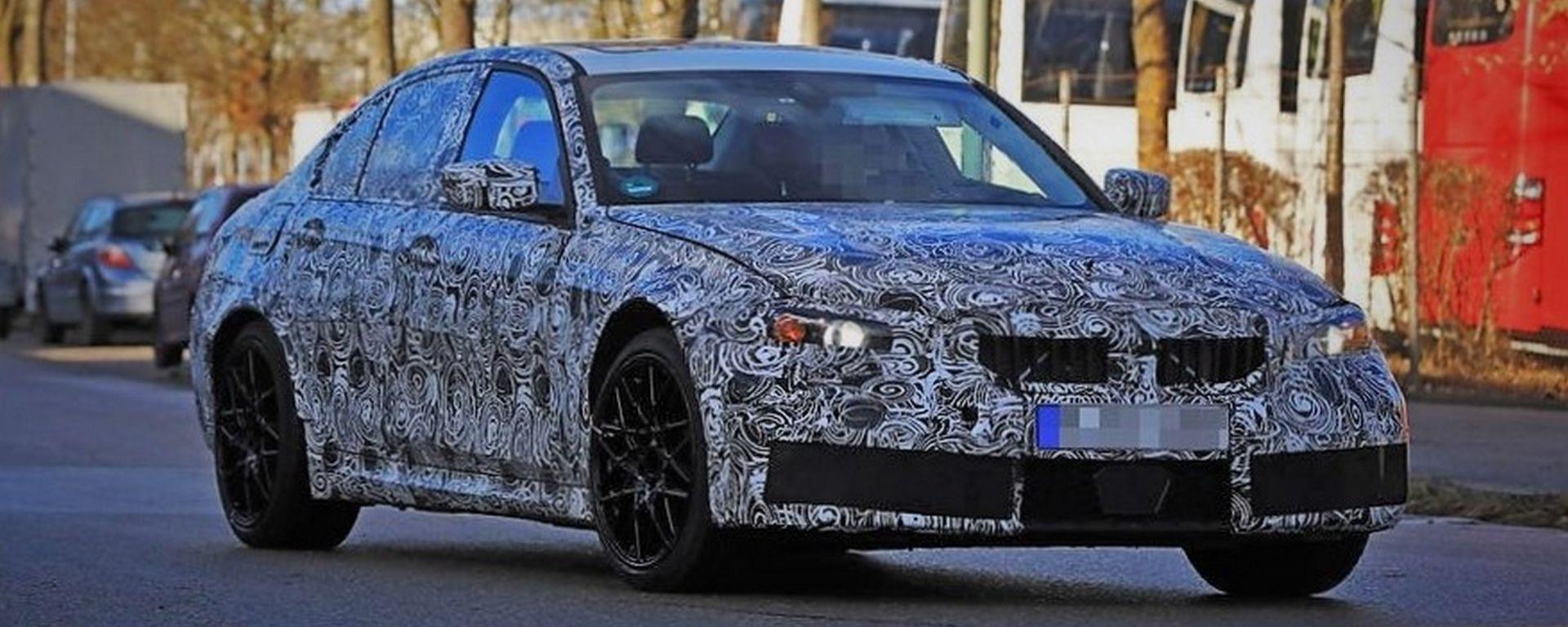 Nuova BMW M3: le prime foto dell'anti-Giulia Quadrifoglio