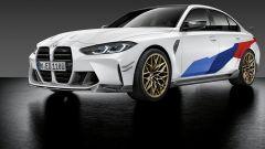 Nuova BMW M3, in vendita gli accessori M Performance Parts
