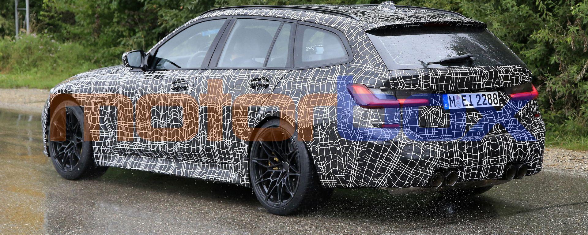 BMW M3 Touring, la super wagon è già in strada. Prime foto spia