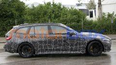 BMW M3 Touring, la super wagon è già in strada. Prime foto spia - Immagine: 5