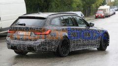 BMW M3 Touring, la super wagon è già in strada. Prime foto spia - Immagine: 6