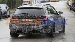 BMW M3 Touring, la super wagon è già in strada. Prime foto spia - Immagine: 7