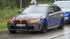 BMW M3 Touring, la super wagon è già in strada. Prime foto spia - Immagine: 10