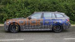 BMW M3 Touring, la super wagon è già in strada. Prime foto spia - Immagine: 11