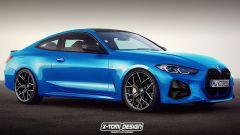 Nuova BMW M4 2021, il render di X-Tomi Design