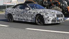 Nuova BMW M4 Cabrio 2020: vista 3/4 anteriore