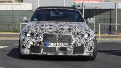 Nuova BMW M4 Cabrio 2020: vista frontale