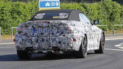 Nuova BMW M4 Cabrio 2020: vista posteriore